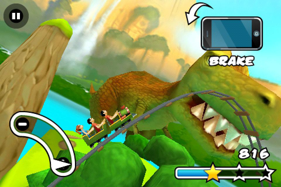Screenshot Jurassic 3D Rollercoaster Rush